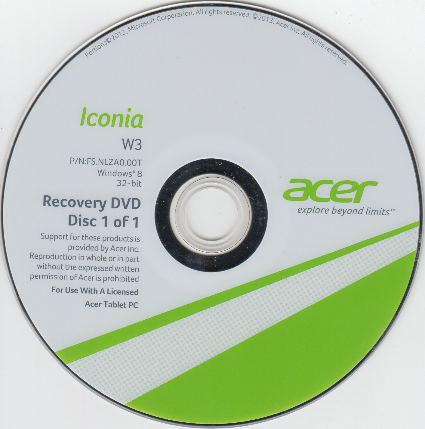 acer windows 7 recovery disk download free